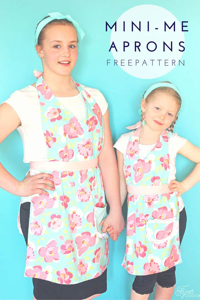 Matching Mom and Child Free Apron Pattern - FYNES DESIGNS | FYNES ...