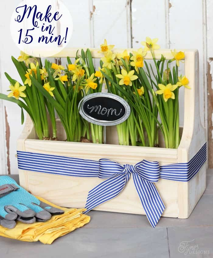 Or how about a beautiful gardening box for Mom. Add a May Arts Ribbon ...