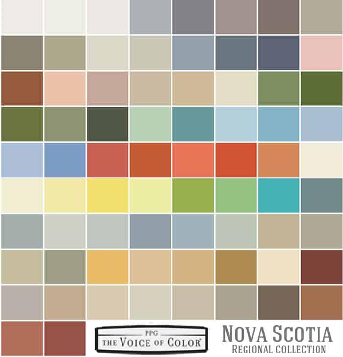 The Colors Of Nova Scotia - FYNES DESIGNS