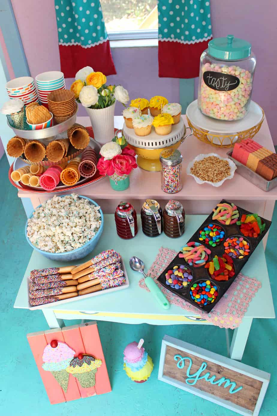 Playhouse Ice Cream Sundae Party With Merry Mag Summer