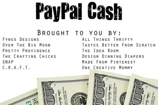 Win $600 pay pal cash!