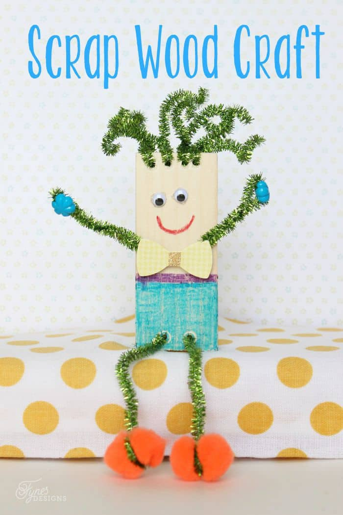 Wood Scrap Kids Craft Summer Boredom Buster Fynes Designs