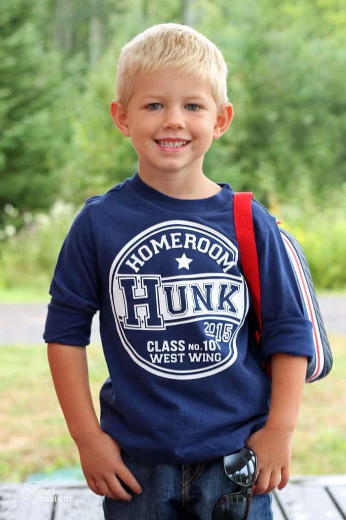 Back to School Cute Kids T-Shirts (Free Silhouette Cut File) - FYNES ...