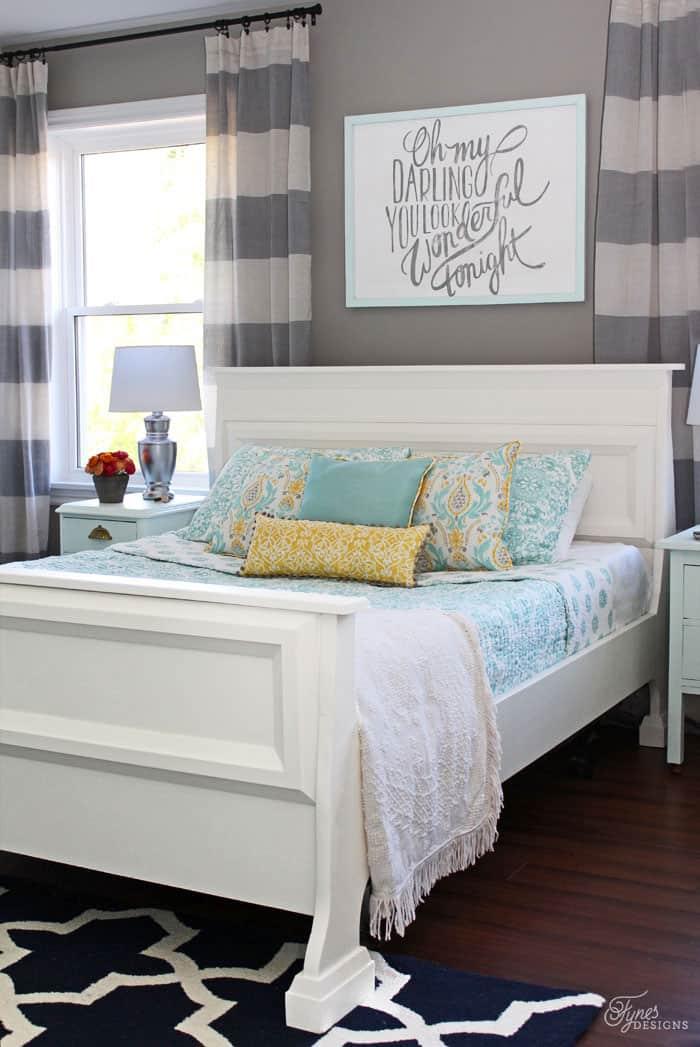 master bedroom reveal - fynes designs   fynes designs