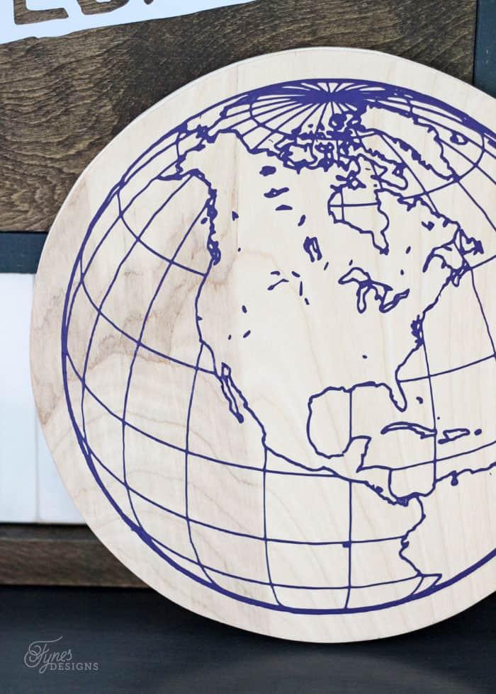 How To Use Heat Transfer Vinyl On Wood Fynes Designs