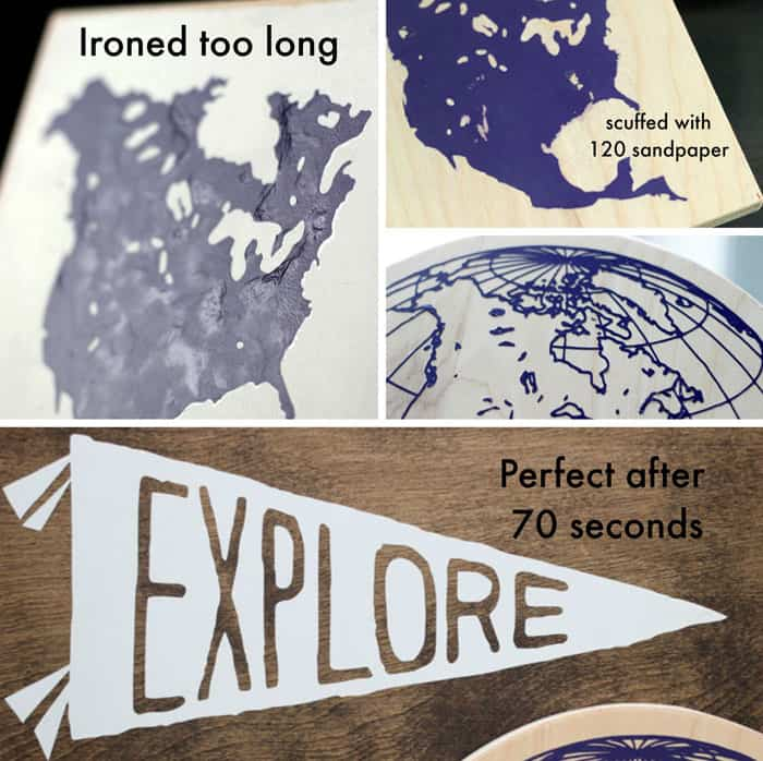 You Can Use Heat Transfer Vinyl On Wood FYNES DESIGNS FYNES - How to make vinyl decals stick to wood