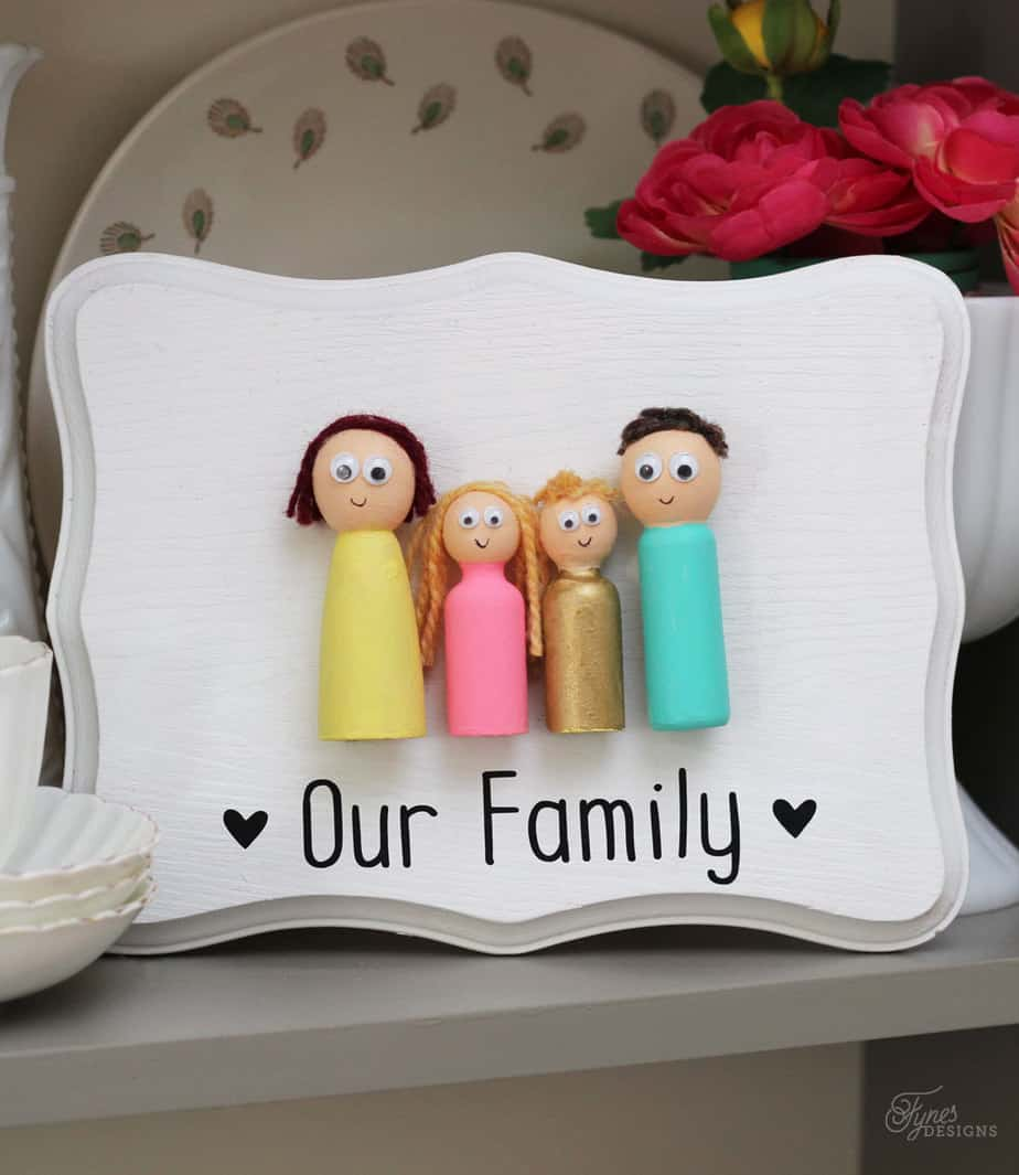Kids Craft- Peg Doll Family - FYNES DESIGNS | FYNES DESIGNS