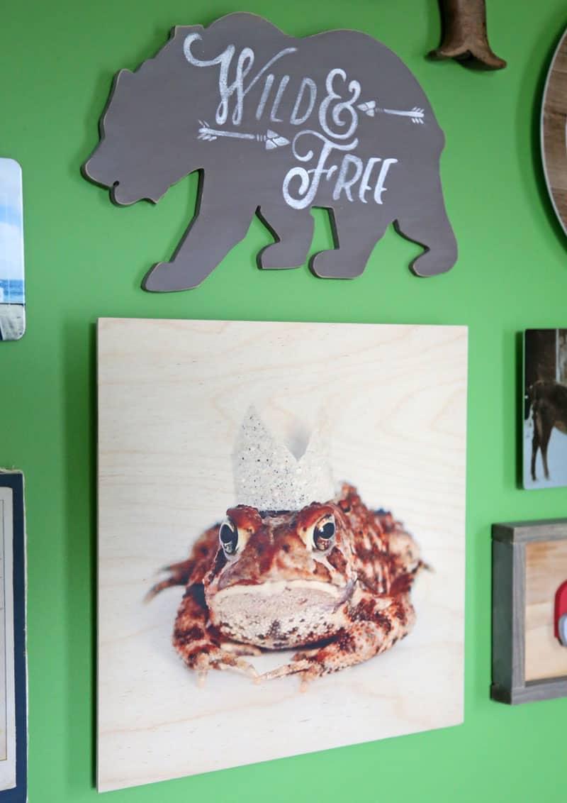 Wood Wall Art from Shutterfly