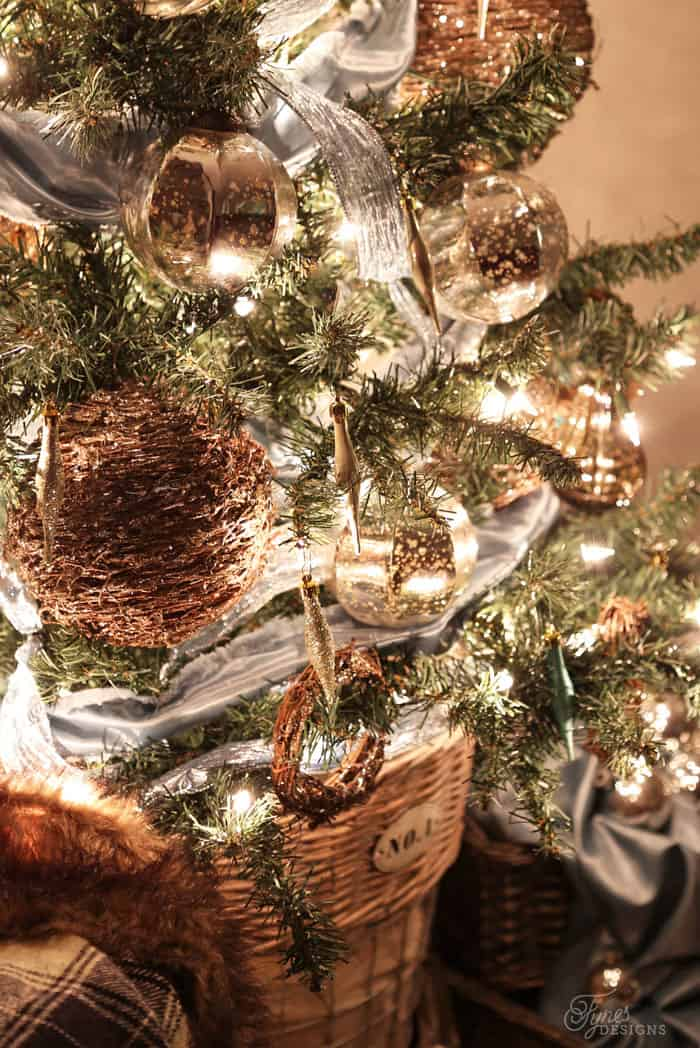 Satin Christmas Ornaments