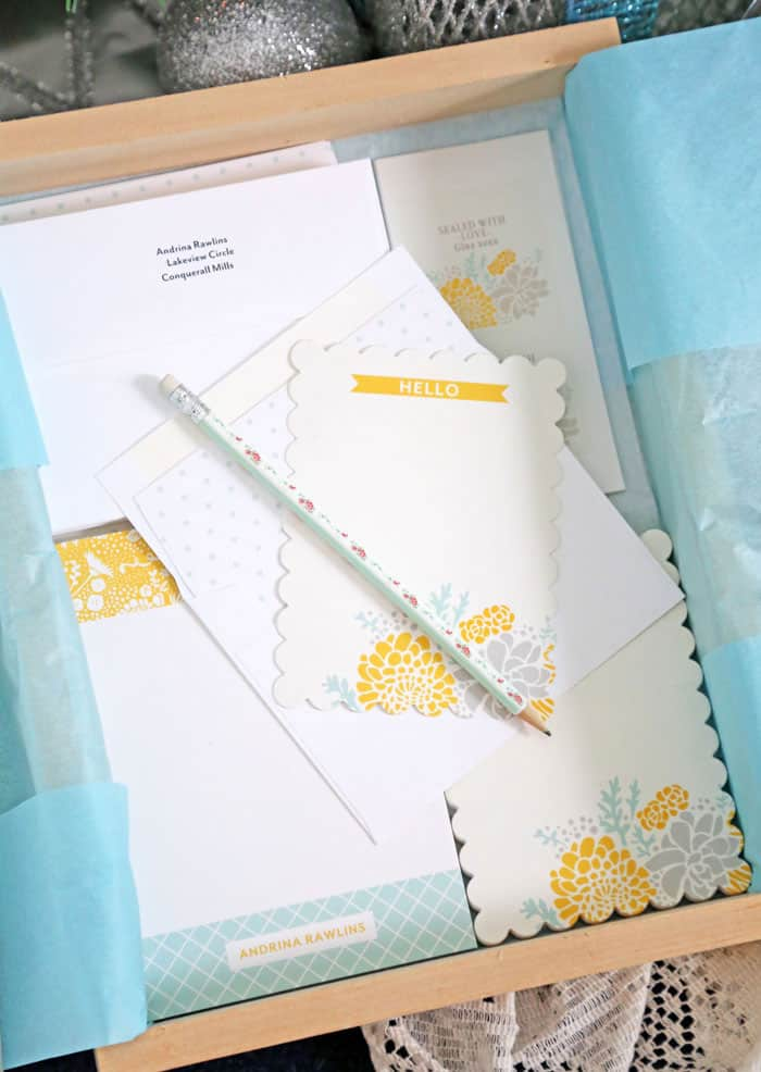gift idea personalized stationary set fynes designs fynes designs