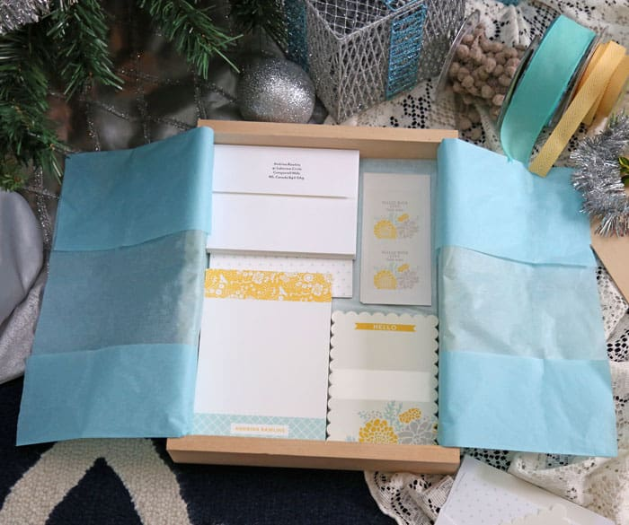 Gift Idea- Personalized Stationary Set - FYNES DESIGNS | FYNES DESIGNS