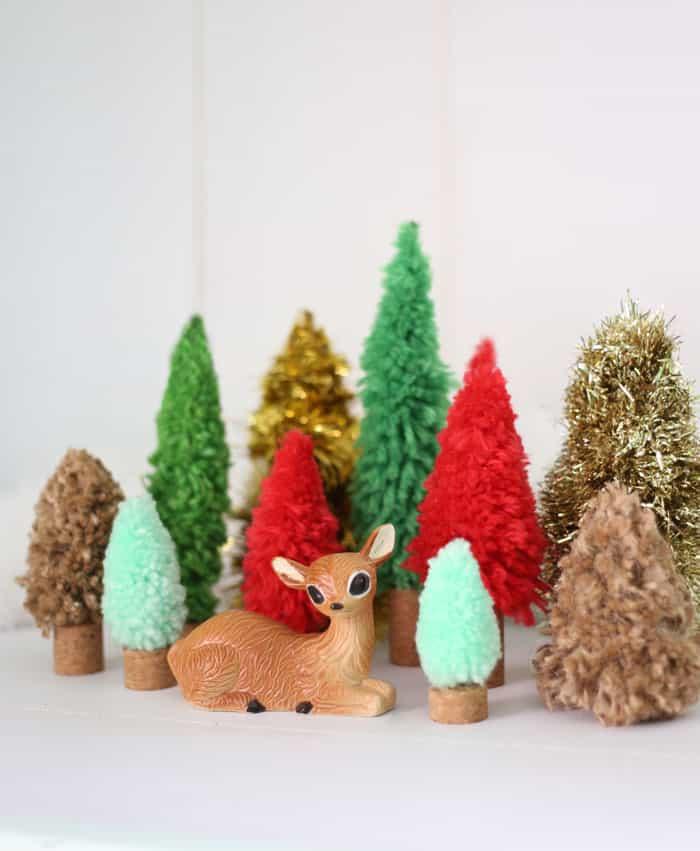 Diy Bottle Brush Trees Crafternoon Kit Fynes Designs Fynes Designs