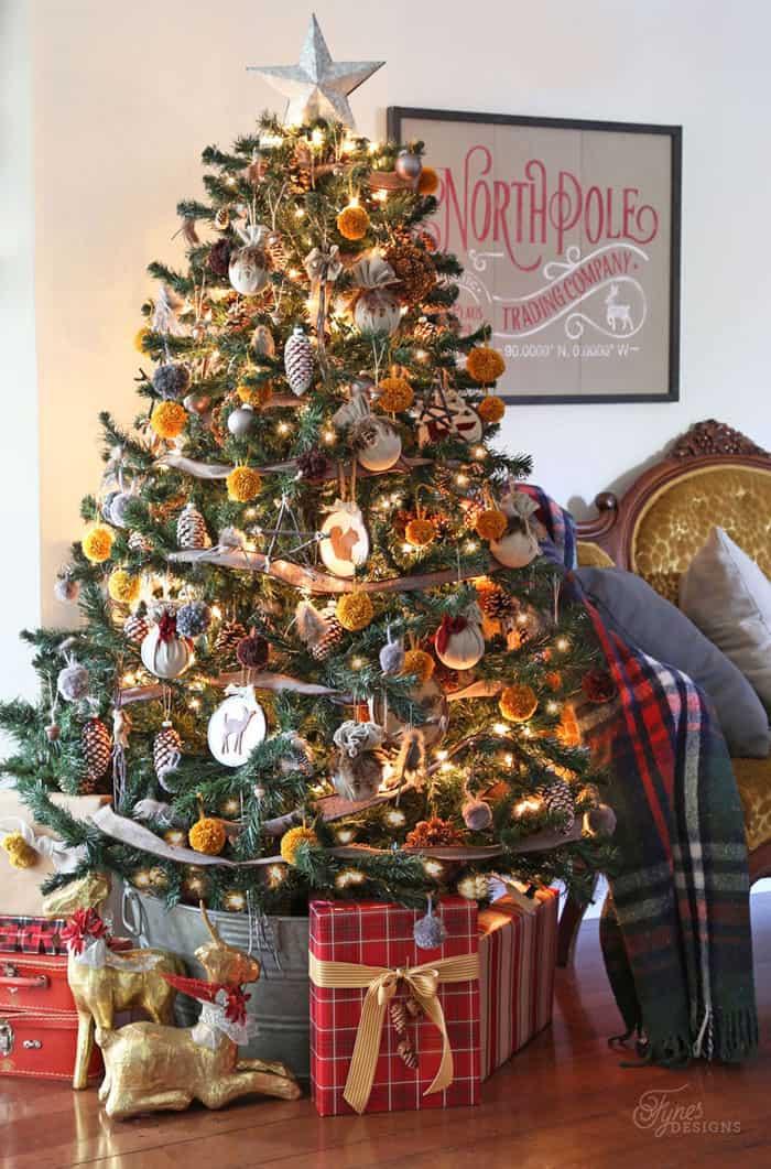 2015 Christmas Home Tour Part 1 Fynes Designs Fynes